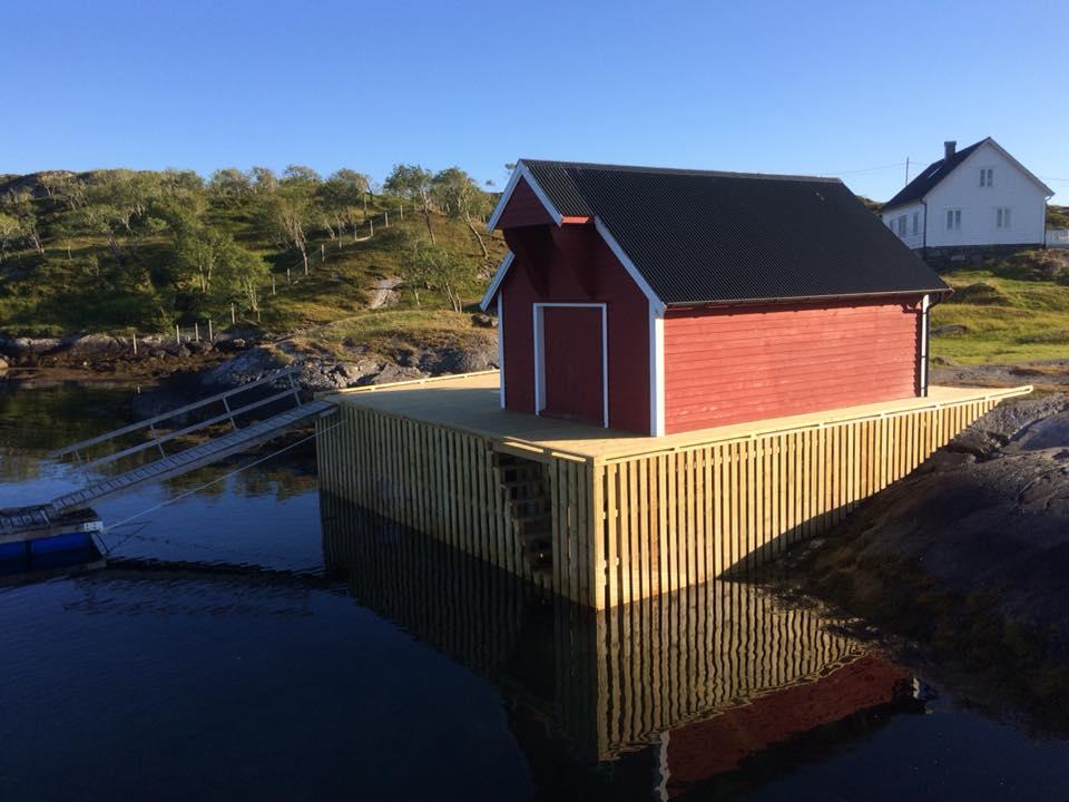 Nybygg kaianlegg Ånnøy. Sjøtjenester Florø - sjotjenesterfloro.no
